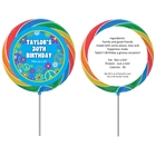 Hippie Retro Theme Custom Lollipop