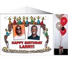 Birthday Cake For Him Photo Centerpiece