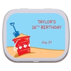 Beach Party Theme Mint Tin