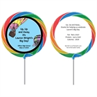 Graduation Up Up and Away Theme Lollipop