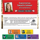 Graduation Color Choice Theme Candy Bar Wrapper