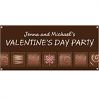 Valentine's Day Chocolates Theme Banner