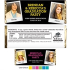 Graduation Polaroid Photo Theme Candy Bar Wrapper