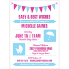 Baby Shower Icons Invitation