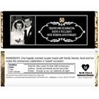 50th Anniversary Vintage Photo Candy Bar Wrapper