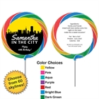 Pick Your Skyline Birthday Custom Lollipop