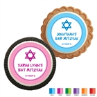 Star of David Mitzvah Custom Cookie