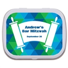 Torah Theme Bar Mitzvah Custom Mint Tin