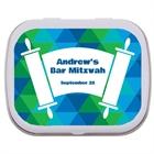Torah Theme Bar Mitzvah Custom Mint Tin