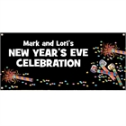 Noisemakers New Years Theme Banner