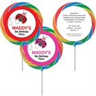 Ladybugs Theme Lollipop