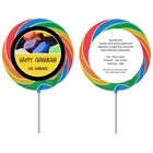 Chanukah Dreidel Lollipop