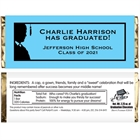 Graduation For Him Theme Candy Bar Wrapper