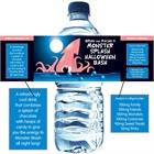 Halloween Sea Creature Water Bottle Label