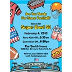 Football Stadium Party Invitation