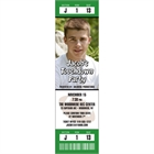 Football Photo Ticket Invitation