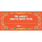 A Mexican Fiesta Theme Seating Card