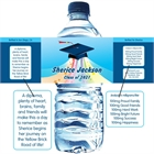 Graduation Land  of Oz Water Bottle Label