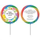 A Luau Hibiscus Theme Custom Lollipop