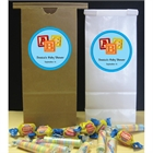 Baby Blocks Baby Shower Party Favor Bag