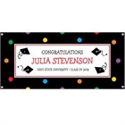 Graduation Dots Theme Banner