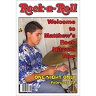 Rock 'n Roll Welcome Sign