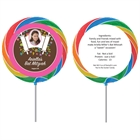 Bat Mitzvah Torah Flowers Lollipop
