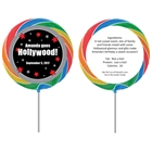 Hollywood Star Theme Custom Lollipop