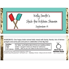 Bridal Shower Kitchen Theme Candy Bar Wrapper