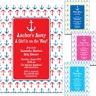 Anchor Theme Party Invitation
