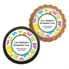 Graduation Luau Hibiscus Theme Cookie Party Favor