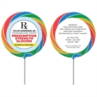 Graduation Prescription Pad Theme Lollipop
