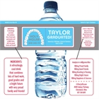 Graduation Dental School Water Bottle Label