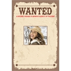 Western Wanted Poster Sign In Board