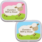 Baby Sheep Theme Baby Shower Mint Tins