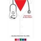 Graduation Doctor's Coat Theme Sign In Board