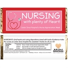 Nursing With Heart Appreciation Candy Bar Wrapper