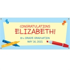 Graduation Theme Kids Banner