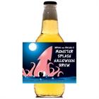 Halloween Sea Creature Theme Beer Label
