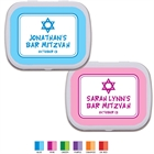 Star of David Mitzvah Mint Tin