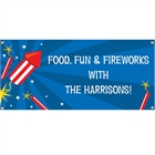 Fireworks Theme Banner
