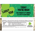 St. Patrick's Day Irish Theme Candy Bar Wrapper