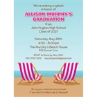 Graduation Beach Bash Invitation