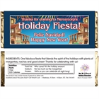 New Years Fiesta Theme Candy Bar Wrapper