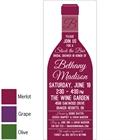 Wine Theme Shower Invitation