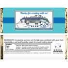Cruise Theme Candy Bar Wrapper