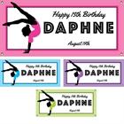 Gymnastics Theme Banner
