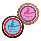 Colorful Gymnastics Theme Custom Cookie