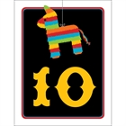 Pinata Theme Fiesta Table Number