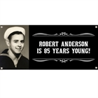 A Classic Birthday Milestone Photo Theme Banner